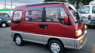 FOR SALE: SUBARU SAMBAR VAN TRY XV Superchanger ECVT 1991, KV4