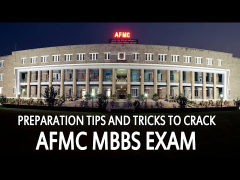 Preparation Tips and Tricks to Crack AFMC MBBS Exam