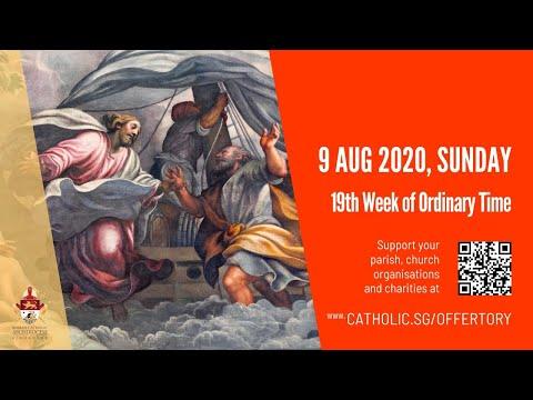 Catholic Sunday Mass Today Live Online - Sunday, 19th Week Of Ordinary Time 2020 - Livestream