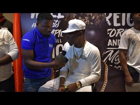 Shatta talks about Unity at Reign Album Unveiling..