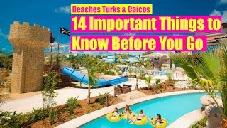 🌴Beaches TURKS & CAICOS All Inclusive Resort: 14 Tips to Know Before You Go!