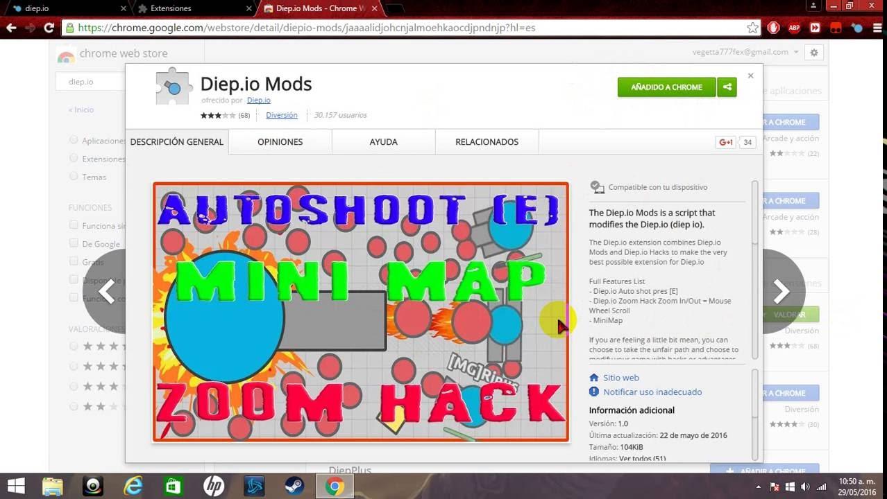Download Hack para diep.io