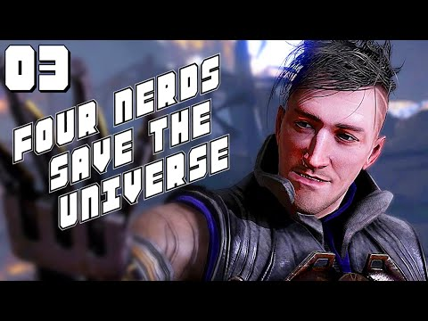 Four Nerds Save the Universe Podcast #3 - Keith Really Wants to Talk About Technomancer