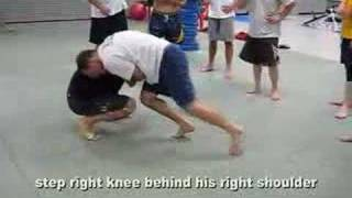 MMA & Submission Wrestling Takedowns Snap Down to Submission