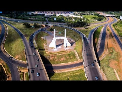 The Beautiful Road Network Of Abuja, Nigeria's Capital Territor 2018y And Its Amazing Environment