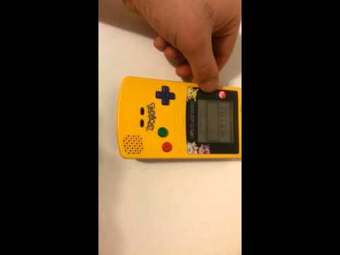 Gameboy Color Pokemon Yellow Edition