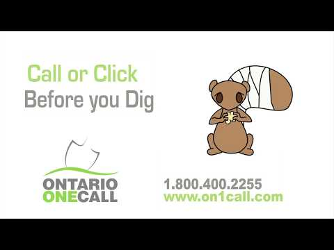 Call Before You Dig. Beware Of Underground Electrical Equipment.