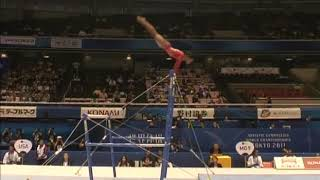 Gabrielle Douglas USA Uneven Bars Team Qualifcation 2011 Tokyo World Championships