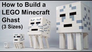 How To Build: LEGO Minecraft Ghast