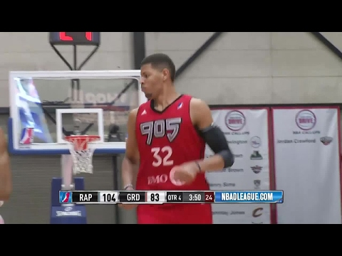 Edy Tavares posts 16 points & 12 rebounds vs. the Drive