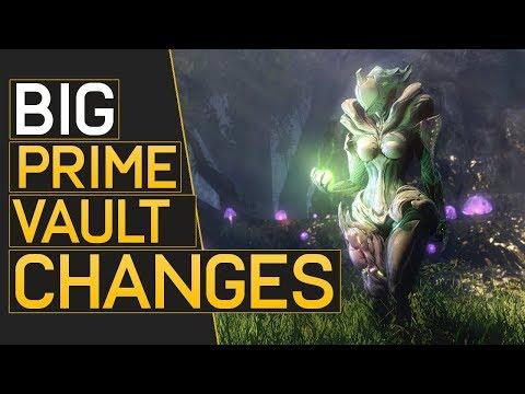 Warframe: Big Prime Vault Changes On The Way