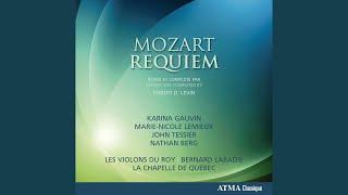 Requiem in D Minor, K. 626 (Completed by R. Levin) : Benedictus (Live)