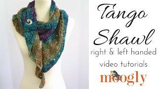 How to Crochet: Tango Shawl (Right Handed)