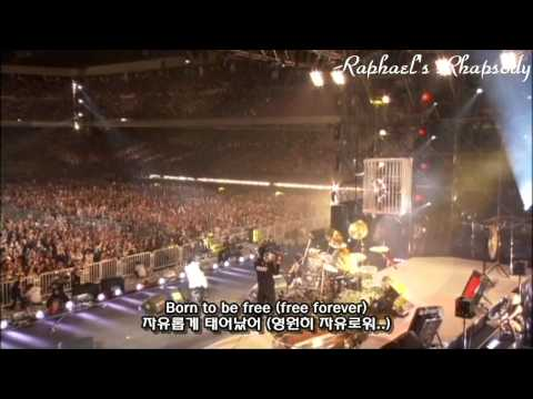 X JAPAN (X) - Born To Be Free LIVE 2010 (Korean, English Sub)