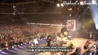 X JAPAN X Born To Be Free LIVE 2010 Korean English Sub