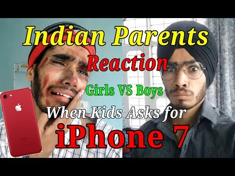 Indian Parents Reaction On Birthday Gift iPhone 7 Demands Girls VS Boys | Funny Vine