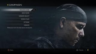 Call of Duty Ghosts gameplay pt 1 mission 1-2