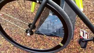 My First Impression of the CREATE 2013 Fixie Bike