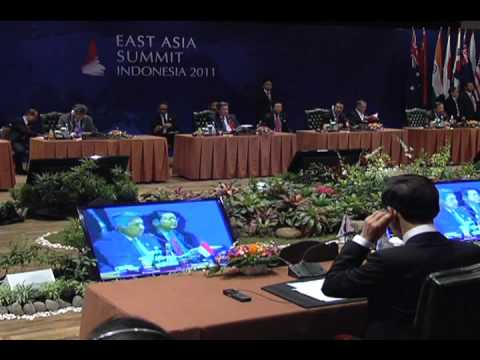 6th EAST - ASIA Summit Retreat Session 11/19/2011