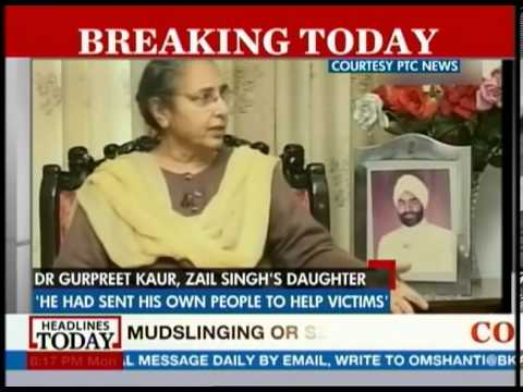 Govt. ignored pleas for help: Zail Singh
