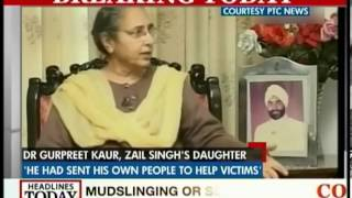 Govt. ignored pleas for help: Zail Singh