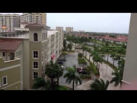 Hurricane Isaac in Cape Coral after mandatory evacuation in Fort Myers Beach Aug. 26 2012