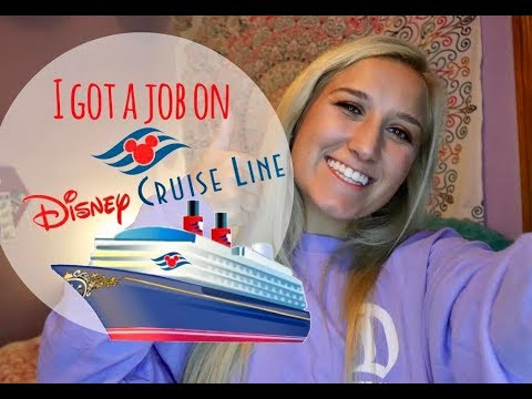 Hired On Disney Cruise Line!!! & Application Process