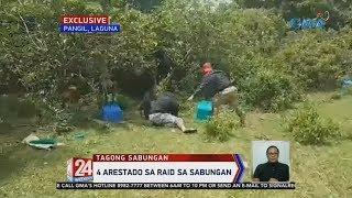 24 Oras: 4 arestado sa raid sa sabungan