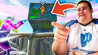 I've BEATEN THIS PLAYER PRO THANKS TO THIS BUG ON FORTNITE!