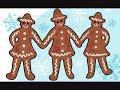 Tre Pepparkaksgubbar (med text)
