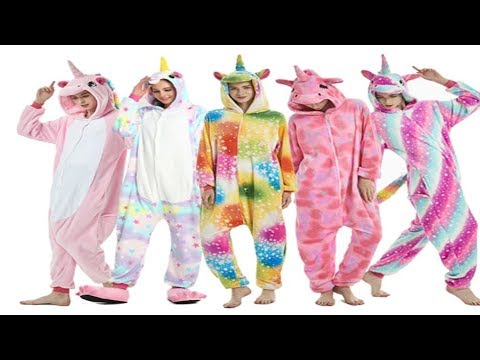 Кигуруми детская и взрослая пижама Единорог
