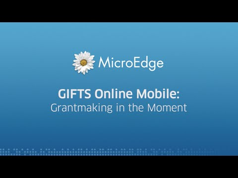 MicroEdge – Reactions to GIFTS Online Mobile at MESC