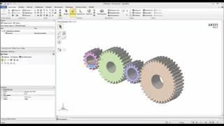 Видеоурок CADFEM VL1509 - Параметрическое моделирование с применением решения ANSYS SpaceClaim