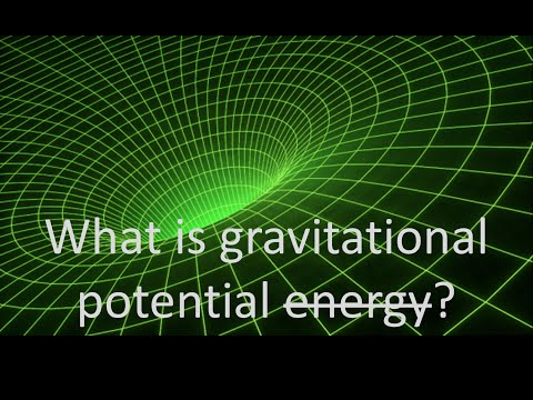 What is gravitational potential (well)?
