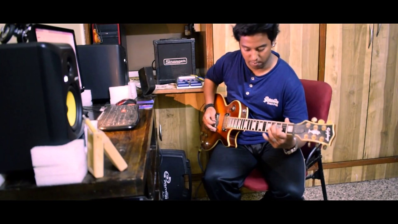 Socha Hai (Rock On) Guitar solo by Mayur