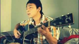 Noi Tinh Yeu Bat Dau demo - guitar cover by Minh bino