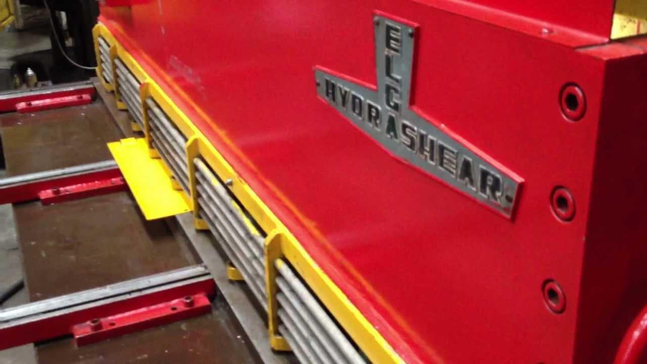 elga hydrashear guillotine press shear capacity 100 x 3 16 rh youtube com Hydrashear C 1750 Hydrashear C 1750