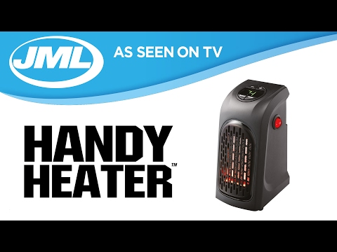 Handy Heater: Personal And Portable Digital Electric Heater from JML