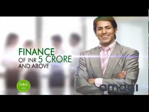G and G Group  non banking finance company Film Finance, business finance against mortgage loan