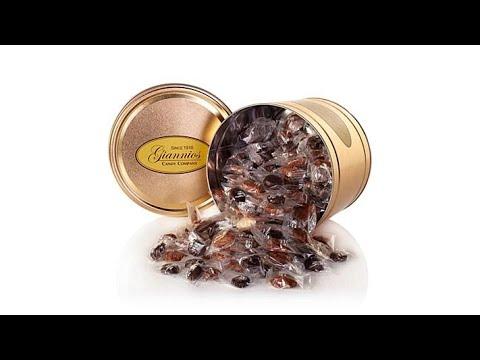 Giannios 6 lbs. Assorted Chocolates in Signature Tin