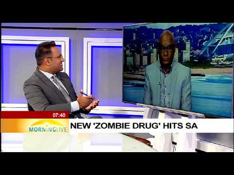"New ""Zombie Drug"" hits SA"