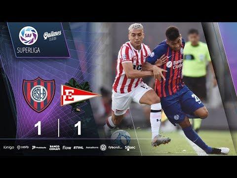 San Lorenzo Estudiantes L.P. Goals And Highlights