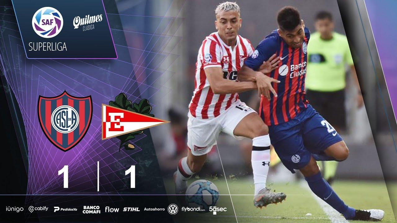 Fecha 17: resumen de San Lorenzo - Estudiantes