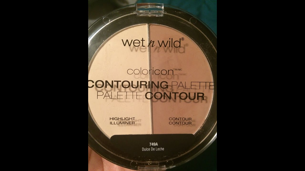 New Wet N Wild Contour Palette