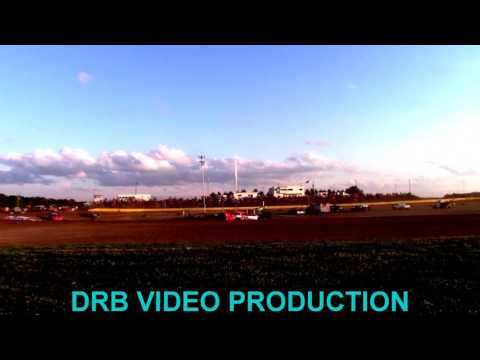 Marion Center Speedway 7/8/17 Super Late Model Heat 1 of 2