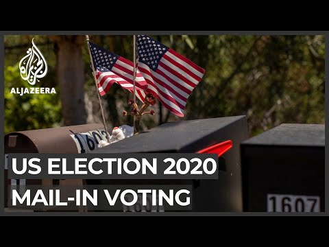 US election: Trump repeats claim postal voting open to fraud