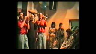 Assekruus 1990 , 5 jarig bestaan dweilorkest Al Mo We Krupe