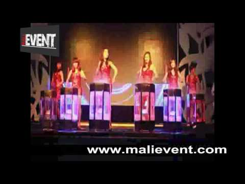 MALİ EVENT 2017 LED DRUM GIRLS SHOW