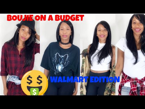 c511189333f78 WALMART CLOTHING TRY ON (BOUJIE ON A BUDGET) WALMART EDITION - YouTube