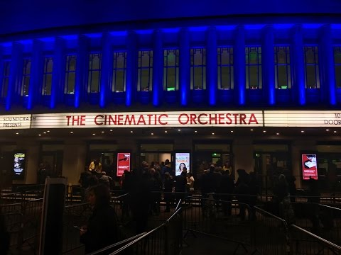 The Cinematic Orchestra Live @ Eventim Apollo Hammersmith London 10:11:2016